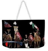Film Homage Ride Vaquero 1953  2 Hispanic Riders  Rodeo Parade Tucson  Az 2002-2008 Weekender Tote Bag
