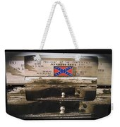 Film Homage Rock Hudson The Undefeated 1969 Apache Owned Pickup Tucson Az  Collage 1985-2012  Weekender Tote Bag