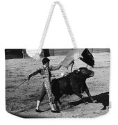 Film Homage Rudolph Valentino Blood And Sand 1922 Bullfight Nogales Sonora Mexico 1978 Weekender Tote Bag