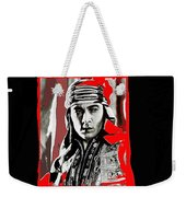 Film Homage Rudolph Valentino The Shiek 1921 Collage Color Added 2008 Weekender Tote Bag