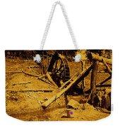 Film Homage Sergei Eisenstein Sutter's Gold 1930 Mining Sluice 1880's-2008 Weekender Tote Bag