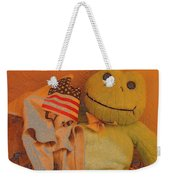 Film Homage The Muppet Movie 1979 Number 1 Froggie Colored Pencil American Flag Casa Grande Az 2004 Weekender Tote Bag