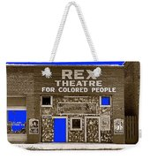 Film Homage The New Adventures Of Tarzan 1935 1935/1937-2010 Rex Theater Leland Mississippi Weekender Tote Bag