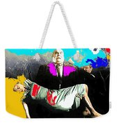 Film Homage Tor Johnson Ed Wood Plan Nine From Outer Space 1959 Publicity Photo Color Added 2012 Weekender Tote Bag