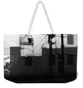 Film Noir Cinematographer Burnett Guffey Glenn Ford Framed 1947 Macarthur Hotel Tucson Az Weekender Tote Bag