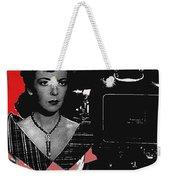 Film Noir Director Ida Lupino Color Added 2012 Weekender Tote Bag