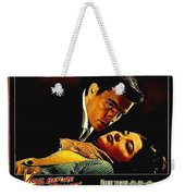 Film Noir Gerd Oswald Robert Wagner A Kiss Before Dying 1956 Poster Color Toning Added 2008 Weekender Tote Bag