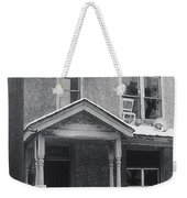Film Noir Its A Wonderful Life 1947 Never Been Born Section Condemned House Minneapolis 1966 Weekender Tote Bag