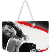 Film Noir Jean Louis Rita Hayworth Gilda 1946 Color Added 2012 Weekender Tote Bag