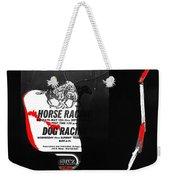 Film Noir Jim Thompson The Grifters 1990 2 Horse Dog Tracks Sign Juarez 1977 Weekender Tote Bag