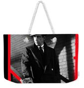 Film Noir John Huston Humphrey Bogart The Maltese Falcon 1941 Color Added 2012 Weekender Tote Bag