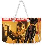 Film Noir Poster  The Burglar Jane Mansfield Weekender Tote Bag