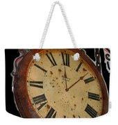 Film Noir Ray Milland Charles Laughton John Farrow The Big Clock 1948 Clock Casa Grande Arizona 2004 Weekender Tote Bag