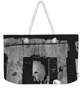 Film Noir Richard Widmark Panic In The Streets 1950 New Orleans Publicity Photo Black And White Weekender Tote Bag