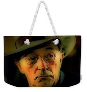 Film Noir Robert Mitchum Philip Marlowe Farewell My Lovely 1975 Publicity Photo Color Added 2013 Weekender Tote Bag