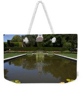 Filoli Garden Pond Weekender Tote Bag