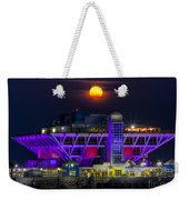 Final Moon Over The Pier Weekender Tote Bag
