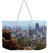 Financial District From Corona Heights Weekender Tote Bag