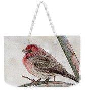 Finch Art Weekender Tote Bag