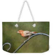 Finch On Guard I Weekender Tote Bag