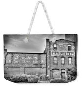Find Your Coal In Black And White Weekender Tote Bag