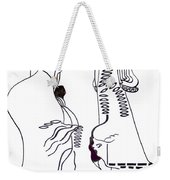 Finding Of The Lord Jesus In The Temple Weekender Tote Bag