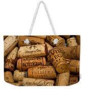 Fine Wine Corks Weekender Tote Bag