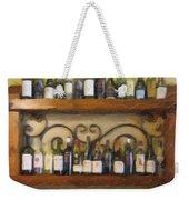 Fine Wine Weekender Tote Bag