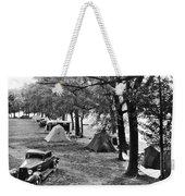 Finger Lakes Camping Weekender Tote Bag