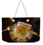 Finger Sandwiches For Traditional Afternoon Tea Weekender Tote Bag