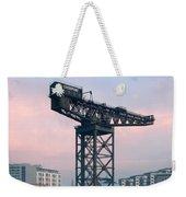Finnieston Crane Reflections Weekender Tote Bag
