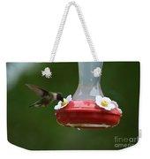 Fiona The Little Female Hummingbird Weekender Tote Bag