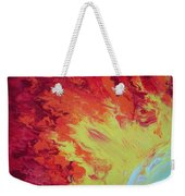 Fire And Glory Weekender Tote Bag