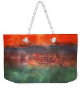 Fire And Ice Misty Morning Weekender Tote Bag