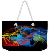 Fire And Ice Smoke  Weekender Tote Bag