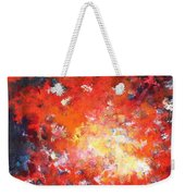 Fire Blazing In The Sky Weekender Tote Bag