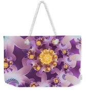 Fire Blossom Weekender Tote Bag