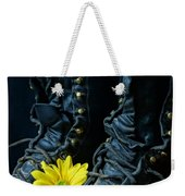 Fire Boots Hdr Weekender Tote Bag