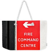 Fire Command Centre Weekender Tote Bag