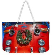Fire Department Christmas 1 Weekender Tote Bag