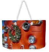 Fire Department Christmas 2 Weekender Tote Bag