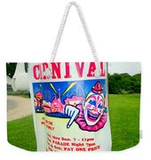 Fire Dept. Carnival Weekender Tote Bag