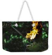 Fire Eater Weekender Tote Bag