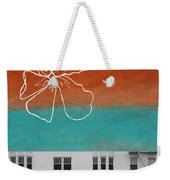 Fire Escapes Weekender Tote Bag by Linda Woods