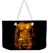 Fire Fighter In New York Weekender Tote Bag