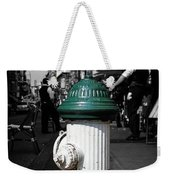 Fire Hydrant From Little Italy Weekender Tote Bag