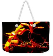 Fire In Bloom Weekender Tote Bag