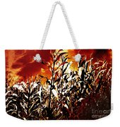 Fire In The Corn Field Weekender Tote Bag