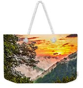 Fire In The Hole - Painted  Weekender Tote Bag