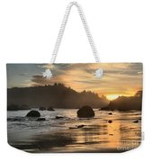 Fire In The Sand Weekender Tote Bag by Adam Jewell